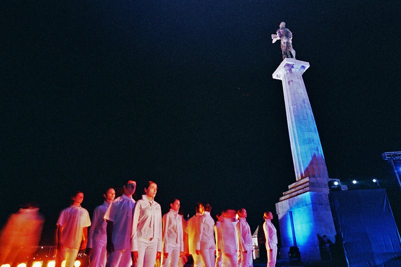 Olympic Flame in Belgrade